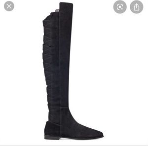 Nine West | Black Suede | Over the Knee Boot